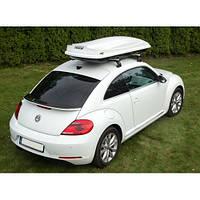 Автомобильный бокс на крышу Amos Travel Pack 500 White