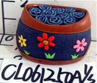 Сувенир керамический-шкатулка ткань с цветочками