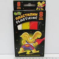 """Пластилин """"Слоненок"""" 8 цв."""