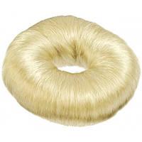 Sibel Підкладка-кільце для зачісок 9см біла
