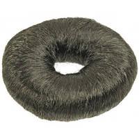 Sibel Подкладка-кольцо для причесок 9см черная