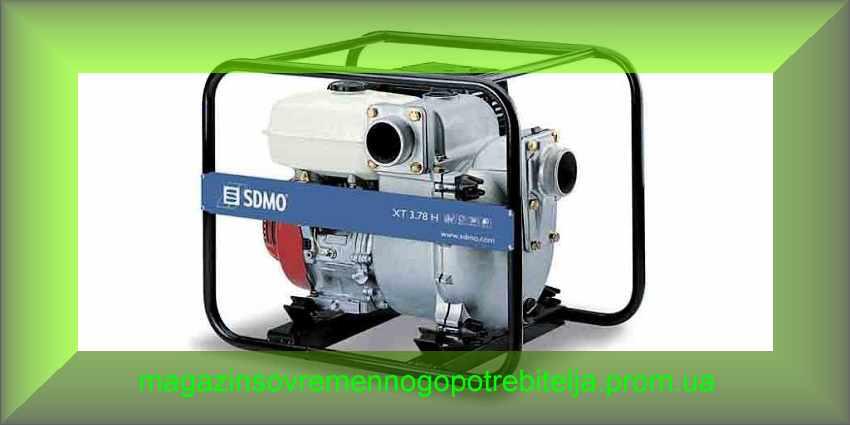 Мотопомпа SDMO XT 3.78 H