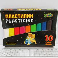 """Пластилин """"Слоник"""" 10цв*145g"""