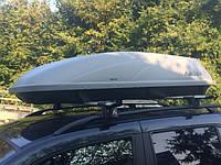 Автомобильный бокс на крышу Aguri Wind 43 White