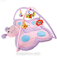 "Детский развивающий коврик ""бабочка"" babymix 898 -11 b hn"