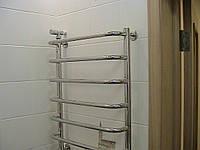 Установка полотенцесушителя без замены трубопровода