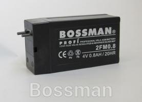 Акумулятор 2FM0.8 (4V 0.8 AH) Розміри 30*21*63мм свинцево-кислотний