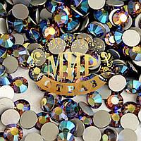 Камни Preciosa (Чехия) Оригинал! Цвет Sm Topaz AB Размер ss16 (3,8-4мм) Фиксация на клей 100шт