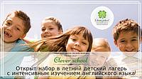 Открыт набор в детский английский лагерь