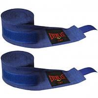 Бинты боксерские (2шт) Х-б EVERLAST BO-3619-4 (l-4м, синие,красные)