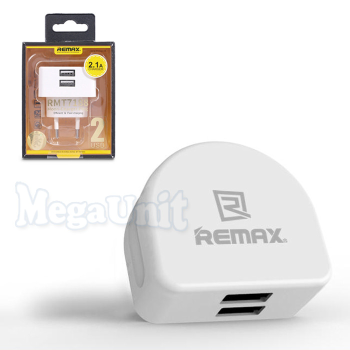 Remax RMT7188 Сетевое зарядное устройство 2*USB 2.1A