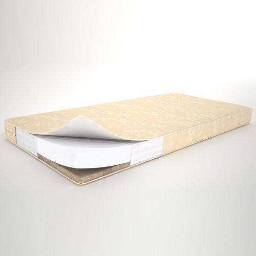 """Матрас в детскую кроватку """"Кокос-холлофайбер"""" двухслойный ортопедический 8 см. (120х60)"""
