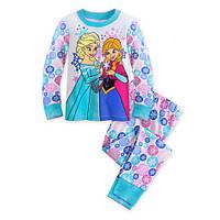 Детская пижама на 8 лет оригинальная Дисней из Америки для девочки Анна и Эльза Холодное сердце