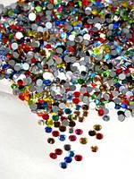 Стразы для ногтей ss3 mixed colors, 1440шт. (1,3-1,4мм)