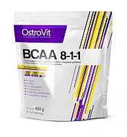 BCAA - Лейцин, Изолейцин, Валин OstroVit BCAA 8-1-1 400g Pure