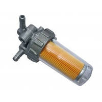 Топливный кран пластиковый стакан GZ (R190)