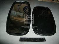 Зеркало боковое КАМАЗ 180х320 плоское металлическое (Россия). 5320-8201020
