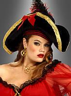 Шляпа мушкетера женская