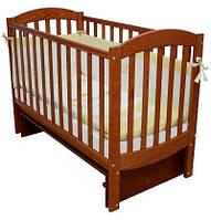 Кроватка для новорожденных Соня ЛД 10 с маятником Верес ольха