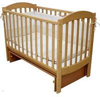 Кроватка для новорожденных Соня ЛД 10 с маятником Верес бук