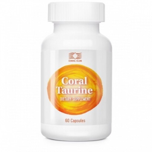 Корал Таурин / Coral Taurine    Улучшает зрение и работу поджелудочной железы. Выступает как антиоксидант.