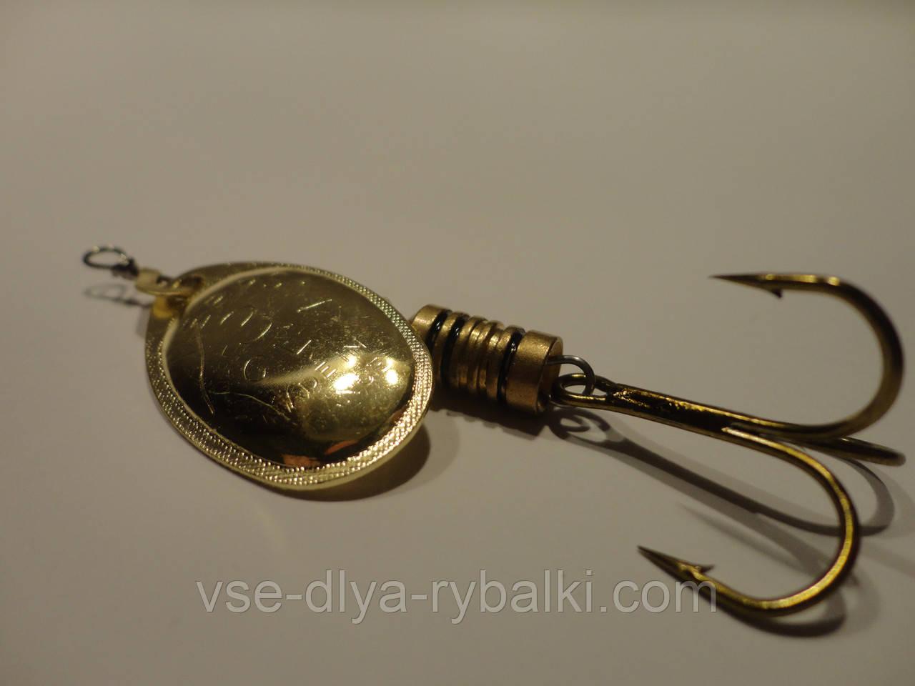 Вертушка mepps Aglia 3 (золото)