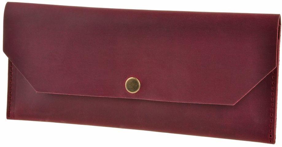 Кожаный кошелек BlankNote BN-KLATCH-1-vin виноград