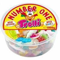 Желейные конфеты Trolli number one Германия 1кг
