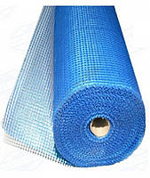 Сетка стеклотканевая145 г/м синяя