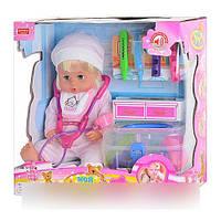 Интерактивный пупс Мой малыш с аксессуарами и набором доктора ZYA-A 0645-2 HN
