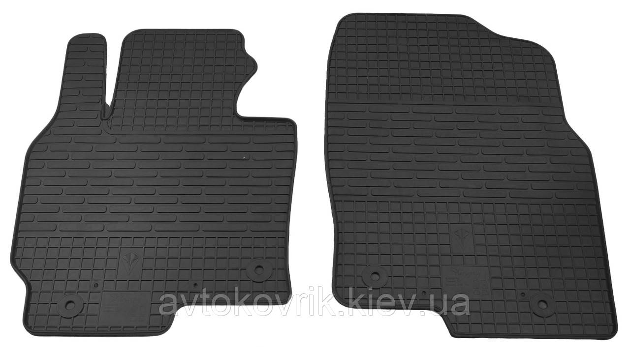 Резиновые передние коврики в салон Mazda CX-5 (KE) 2011- (STINGRAY)