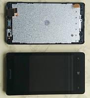 Microsoft (Nokia) Lumia 435 / 532 дисплей LCD + тачскрін сенсорний екран в зборі