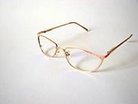 Компютерные очки. Оправа Peace, женская металл, 100% защита от компьютера