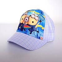 Детская бейсболка Minions - №1519