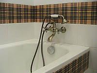 Установка ванны простой (чугун)