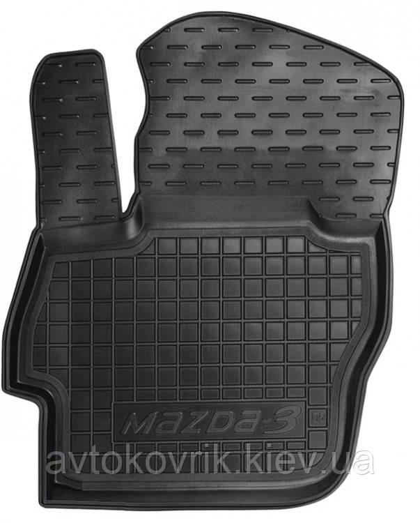 Полиуретановый водительский коврик в салон Mazda 3 (BL) 2009-2013 (AVTO-GUMM)