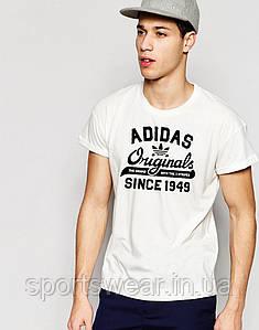 Футболка Адидас | Футболка Adidas белая Original