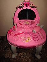 """Трюмо со стульчиком """"Маленькая Кокетка"""", 16 предметов, 72х45 см, Limo Toy"""