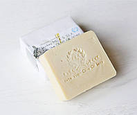 Органическое оливковое мыло ручной работы Молоко ослицы & Шелк (E&A Pure Beauty), 120g., Греция, фото 1