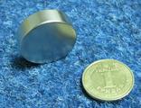 Магнит неодимовый (30*10) сила 30кг.