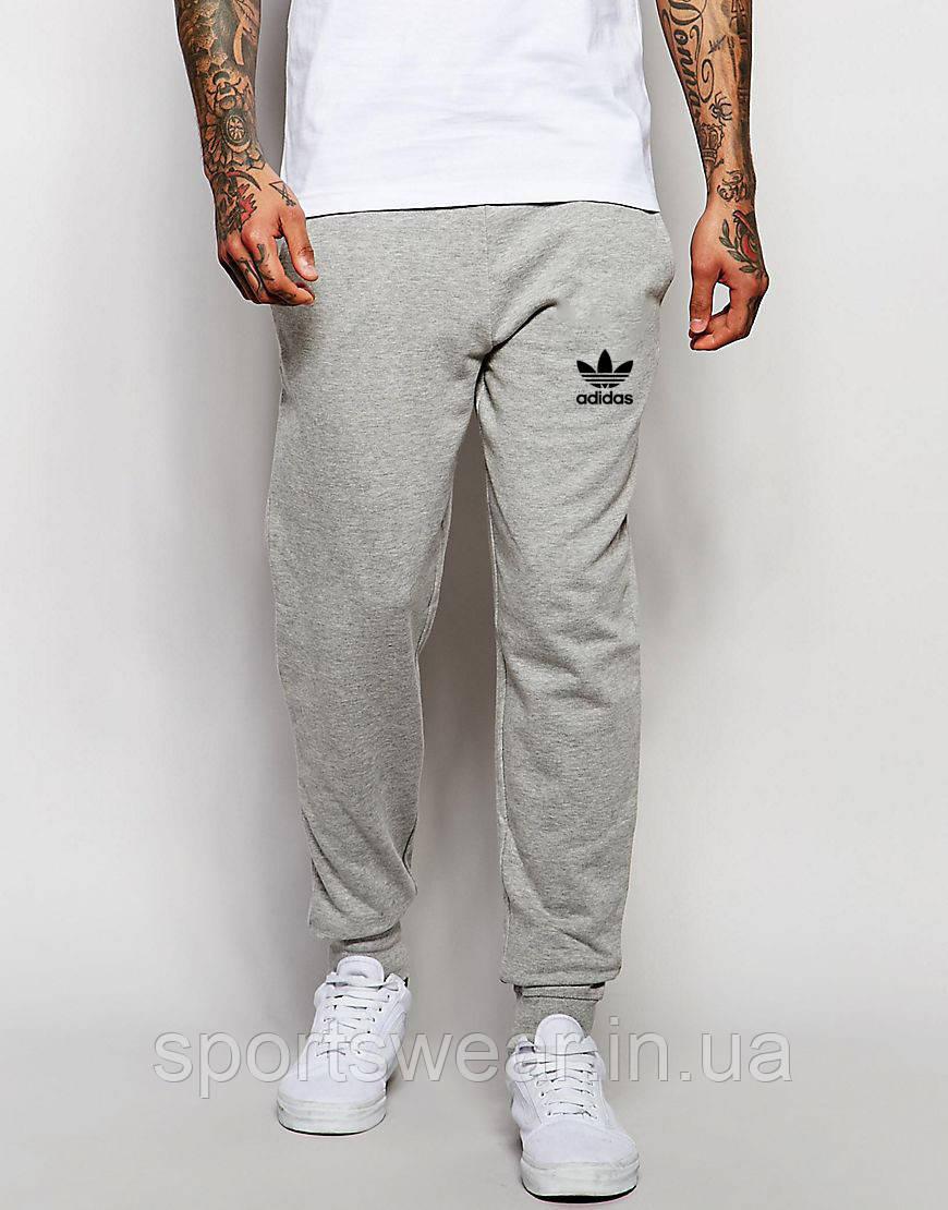 22a74d92 Мужские спортивные штаны ADIDAS | Адидас серые OLD