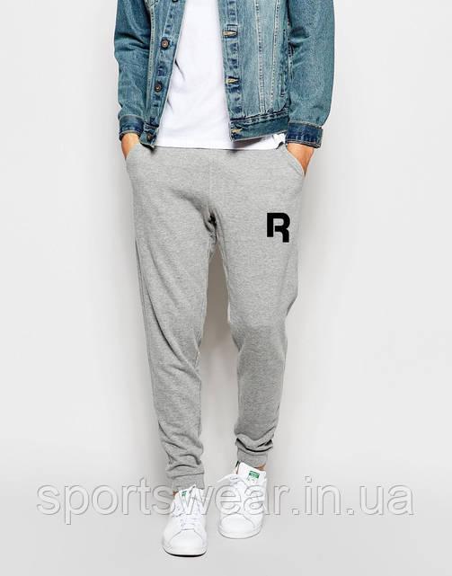 Мужские спортивные штаны REEBOK | РИБОК серые