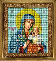 """Набор для вышивания ювелирным бисером икона """"Богородица Неувядаемый Цвет"""""""