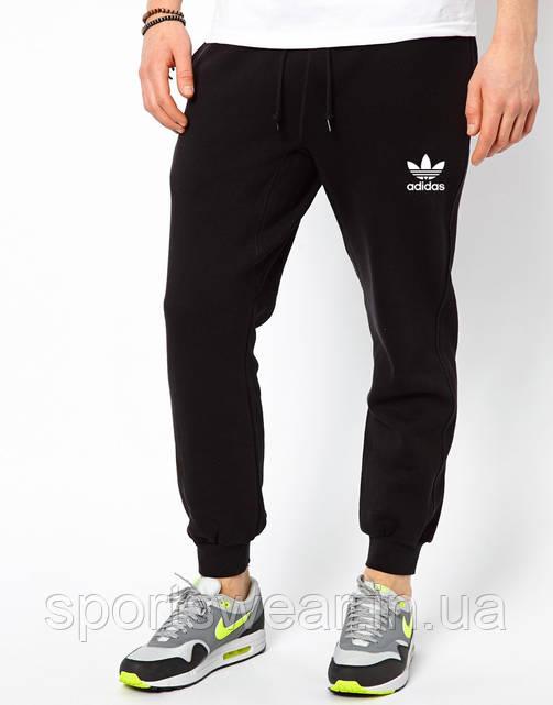 Мужские спортивные штаны ADIDAS | Адидас черные OLD