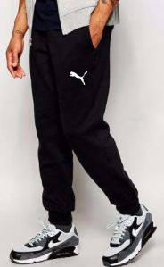 Мужские спортивные штаны PUMA   ПУМА черные
