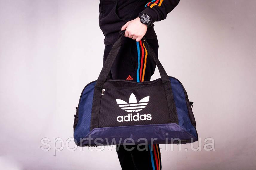 Спортивная сумка  ADIDAS  синее дно
