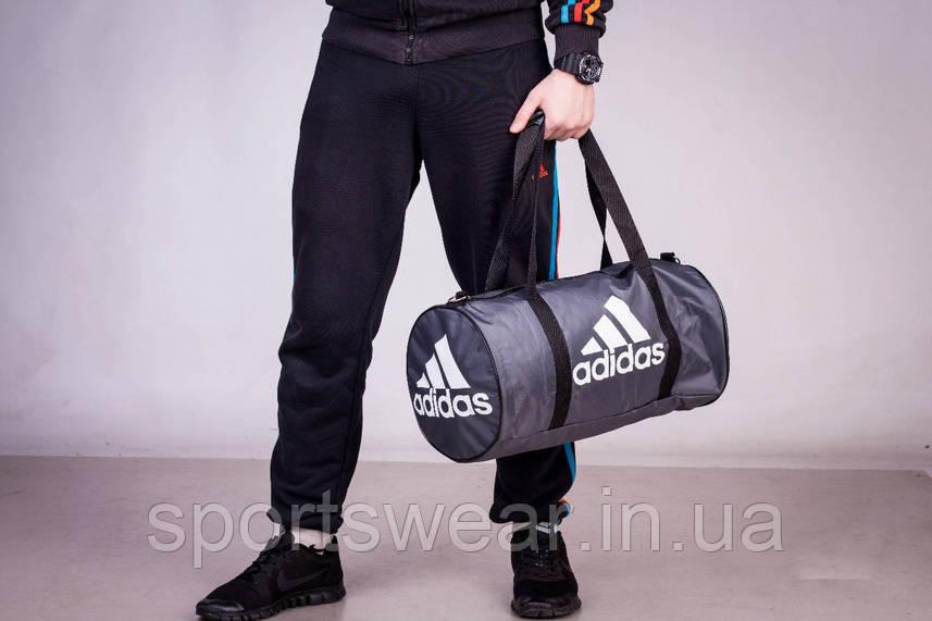 Спортивная сумка  ADIDAS серая