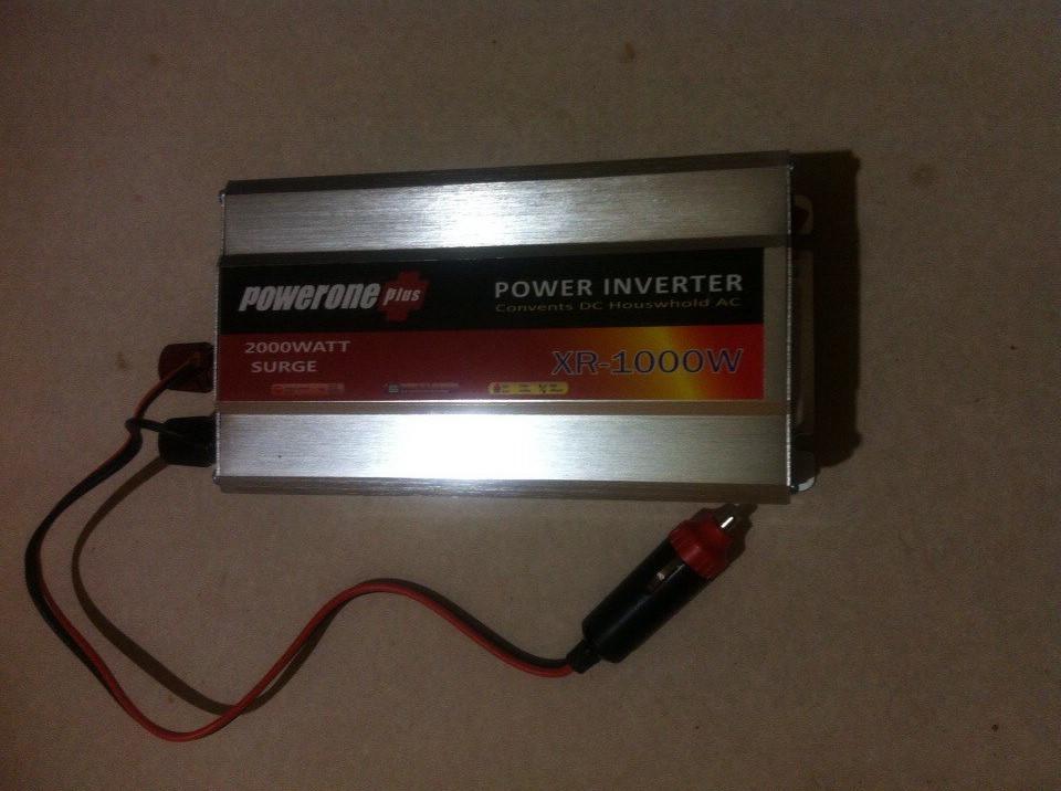 Инвертор Преобразователь напряжения Рowerone 1000 w 12-220v