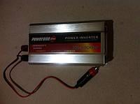 Инвертор Преобразователь напряжения Рowerone 1000 w 12-220v, фото 1