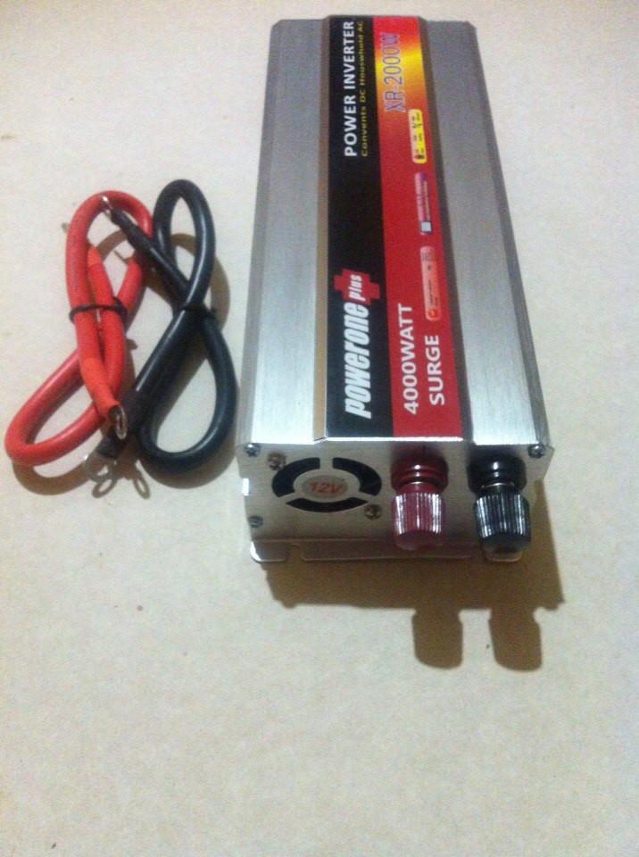 Инвертор преобразователь напряжения powerone 12-220 v 2000w